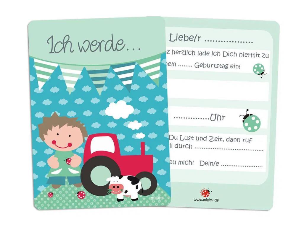 Photo of invitation cards children's birthday: birthday invitation cards – children's …