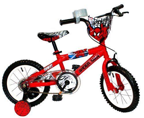 1 4 Inch Spider Man Bike Spiderman 14 Inch Street Flyers Bike