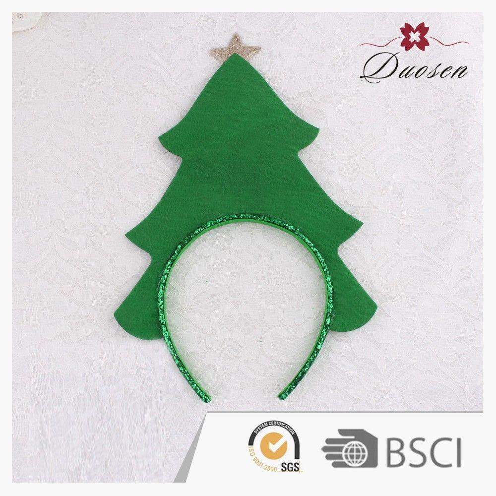 Decoraci n navide a moda fieltro glitter rbol de navidad - Cintas arbol navidad ...