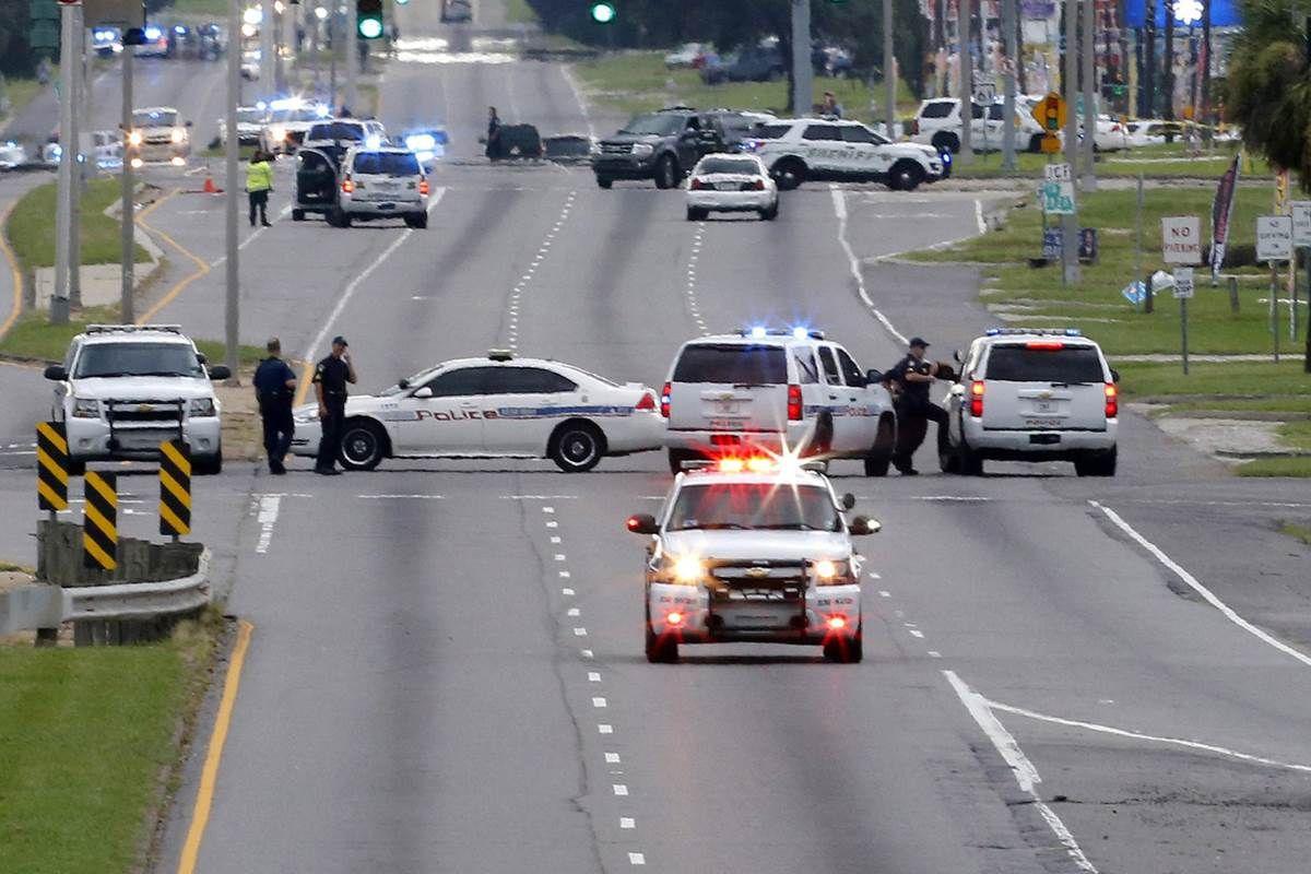 Three Baton Rouge Officers Killed Three Injured In Ambush Baton Rouge Police Baton Rouge 1st Responders