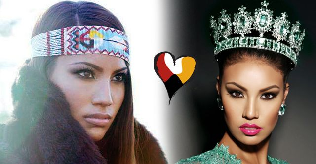 Ashley Callingbull-Burnham is the first Canadian, and the ...