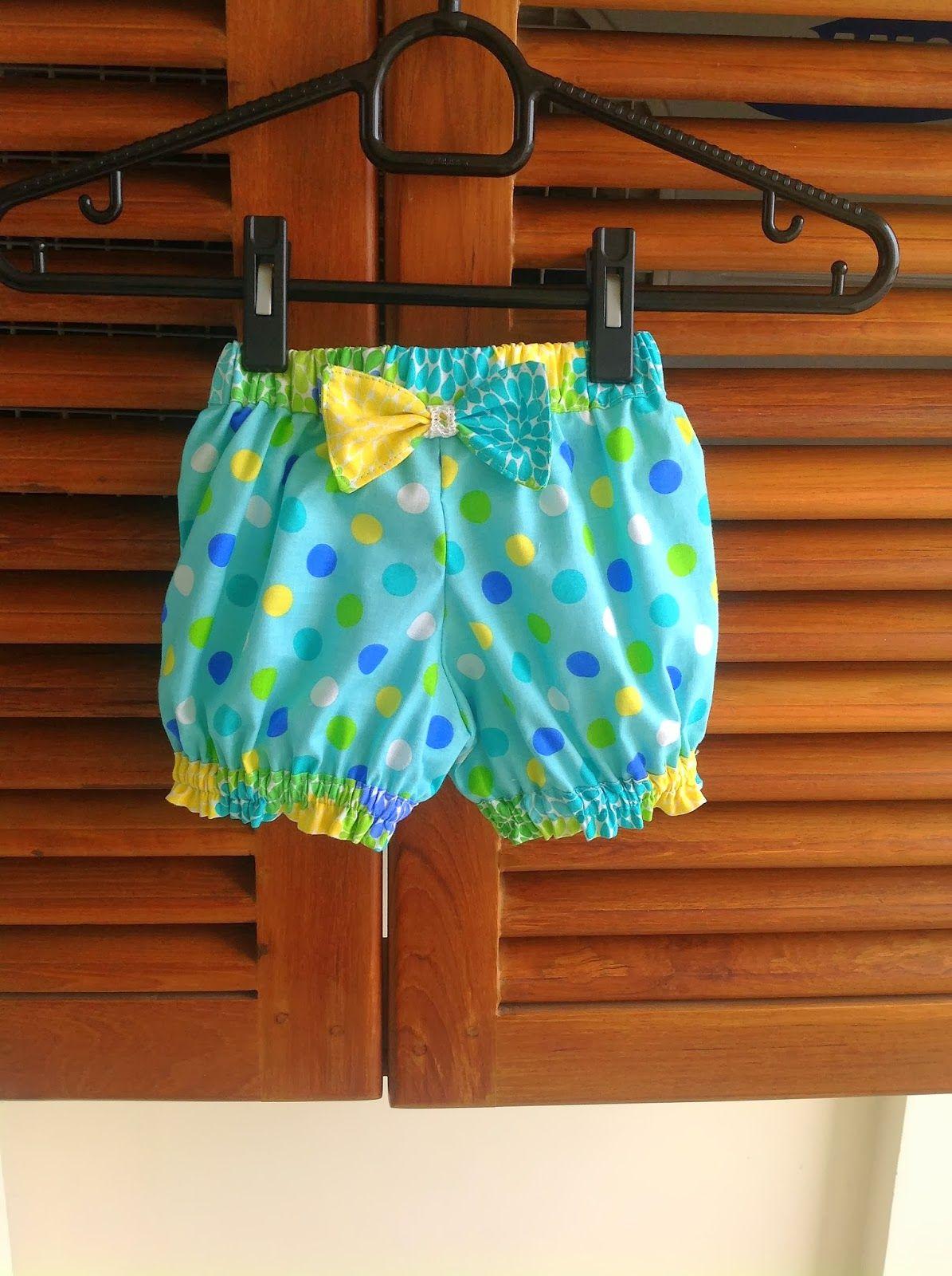Shorts Sewing Pattern, Girl\'s Shorts Pattern, Baby Bloomers Pattern ...