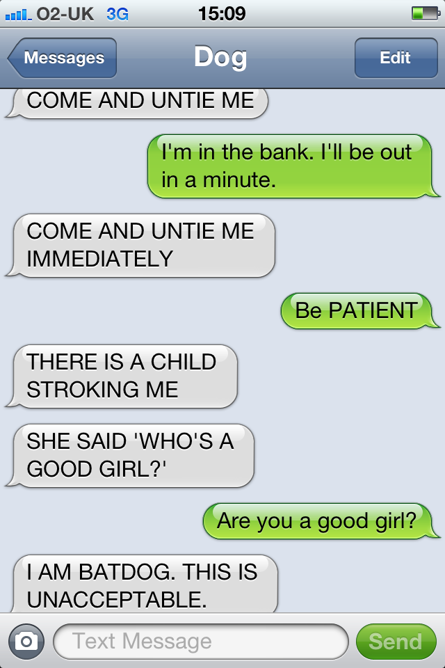 funny ways to start a text conversation with a girl