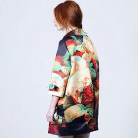 digital flowers coat, the hellers