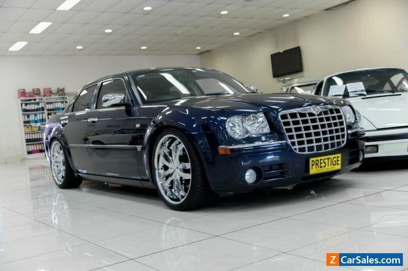 Car For Sale 2005 Chrysler 300c Le My06 5 7 Hemi V8 Blue