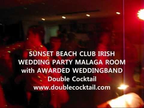 IRISH WEDDING PARTY SUNSET BEACH CLUB BENALMADENA 2.