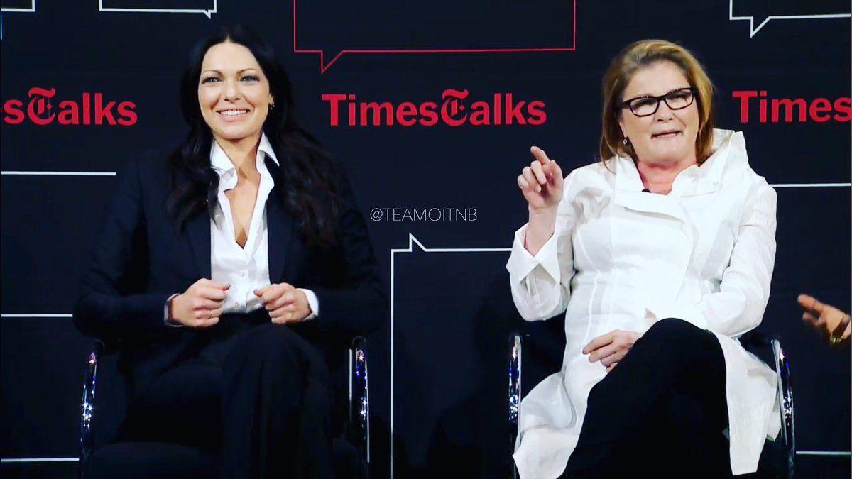 They are super hilarious @TimesTalks ! #OITNB #TimesTalks https://t.co/UNovM0h6nE
