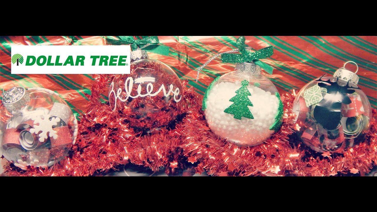 DIY DOLLAR TREE Christmas Ornaments Dollar tree