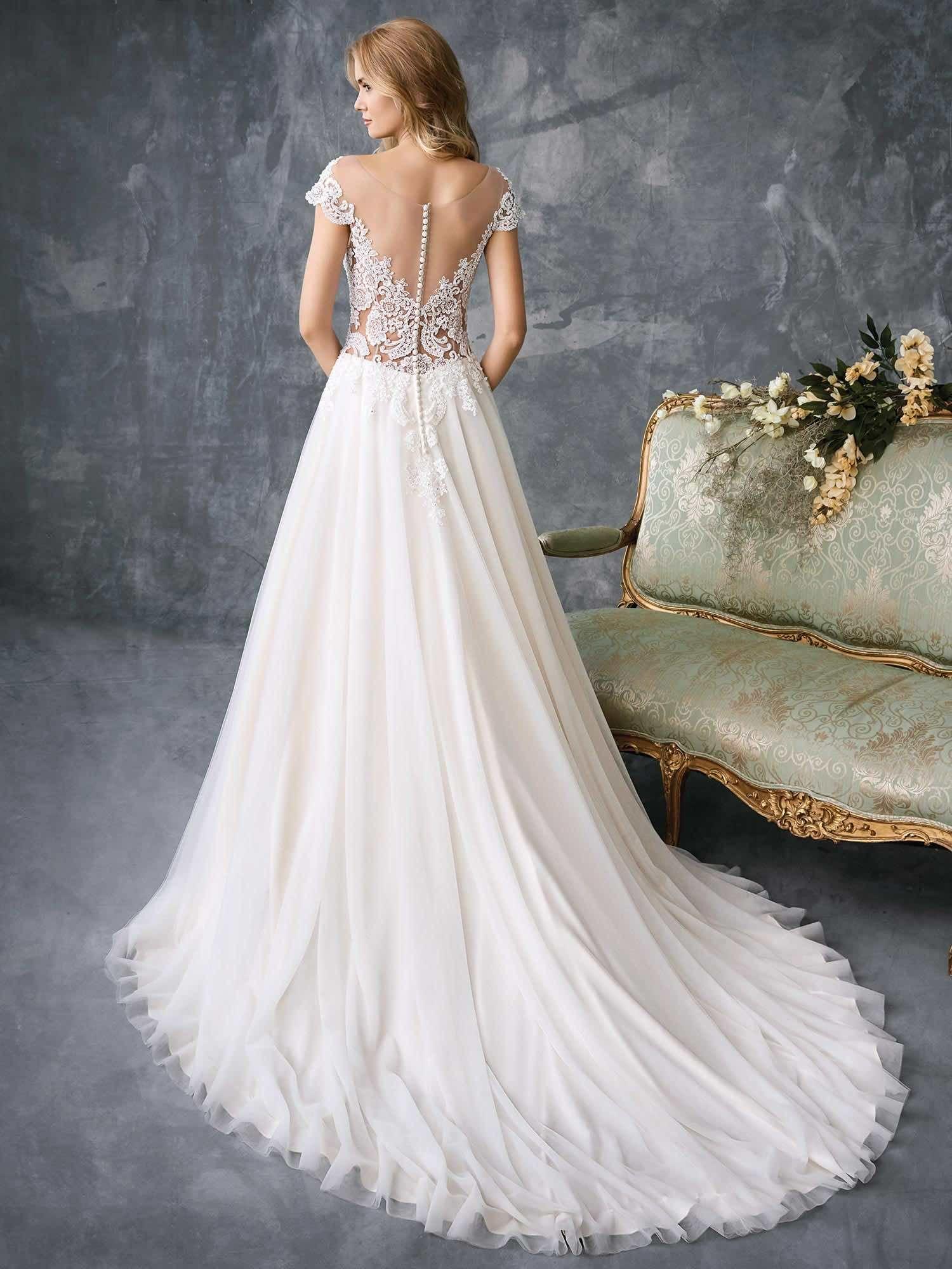 Timelessly Elegant 2018 Spring Kenneth Winston Wedding Dresses 1