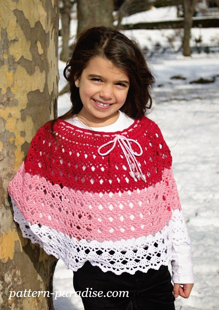 Free Crochet Pattern & Yarn Review - Abby\'s Poncho | Ponchos
