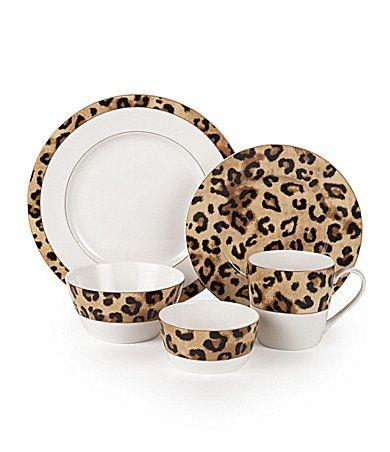 Lauren Ralph Lauren Safari Leopard Dinnerware Iu0027m dying.  sc 1 st  Pinterest & Lauren by Ralph Lauren
