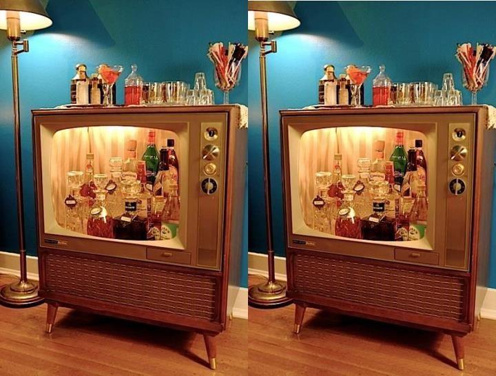 Cool Mini Bar Design Or Fishbowl