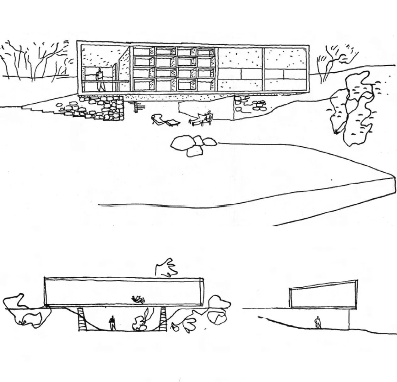 Oscar Niemeyer, casa no rio