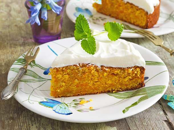 Photo of Juicy carrot cake with cream cheese topping recipe DELICIOUS