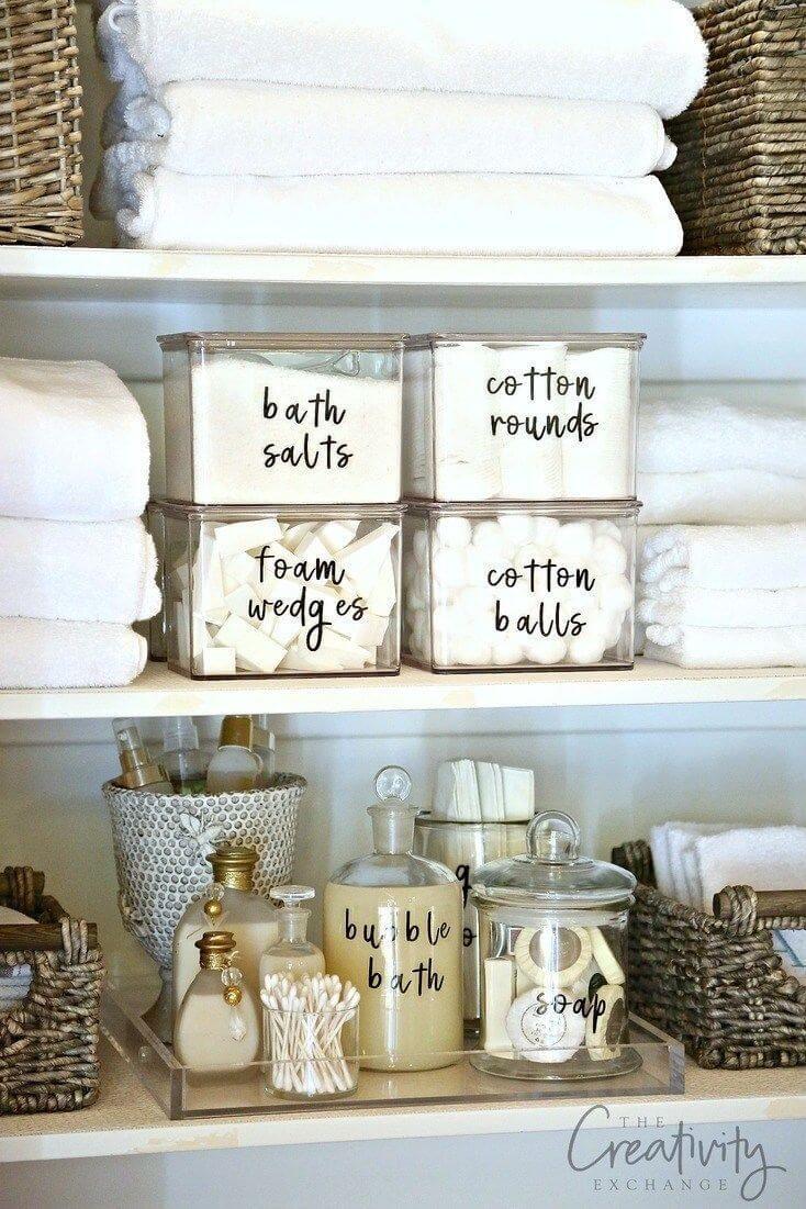 Photo of 42 Super kreative DIY-Badezimmer-Speicherprojekte, um Ihr Badezimmer zu einem günstigen Preis zu organisieren – Einrichtungs Ideen