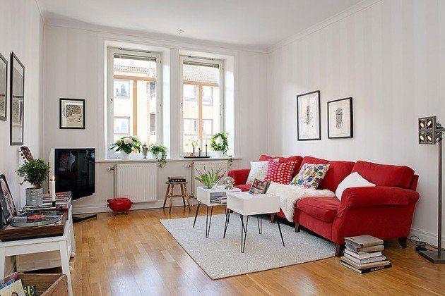 Magnificent 28 Gorgeous Modern Scandinavian Interior Design Ideas Red Bralicious Painted Fabric Chair Ideas Braliciousco
