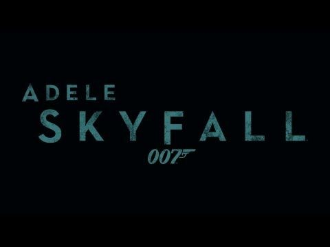Youtube Skyfall Music Book Bond Movies