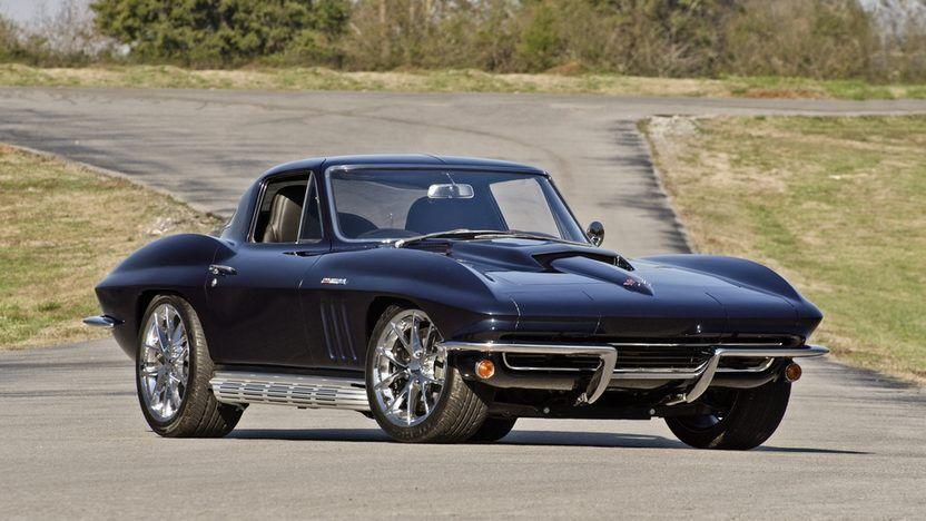 1966 Chevrolet Corvette Resto Mod Presented As Lot F201 At