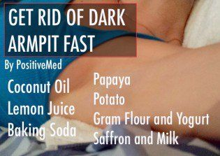 dark armpits treatment