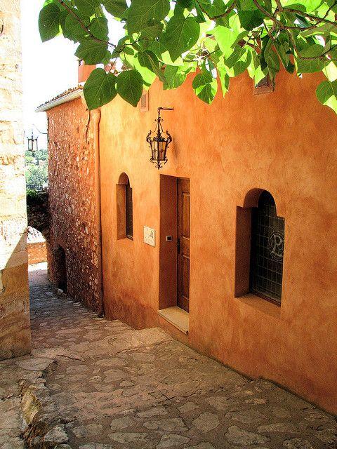 Roussillon La Maison D Ocre By Vins64 Peinture Mur