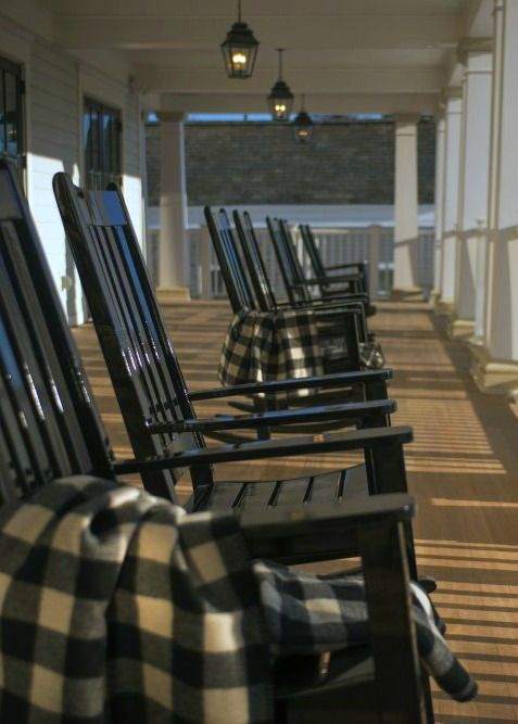 Pull Up A Rocking Chair On Our Front Porch In Manchester, Vermont At The  Taconic