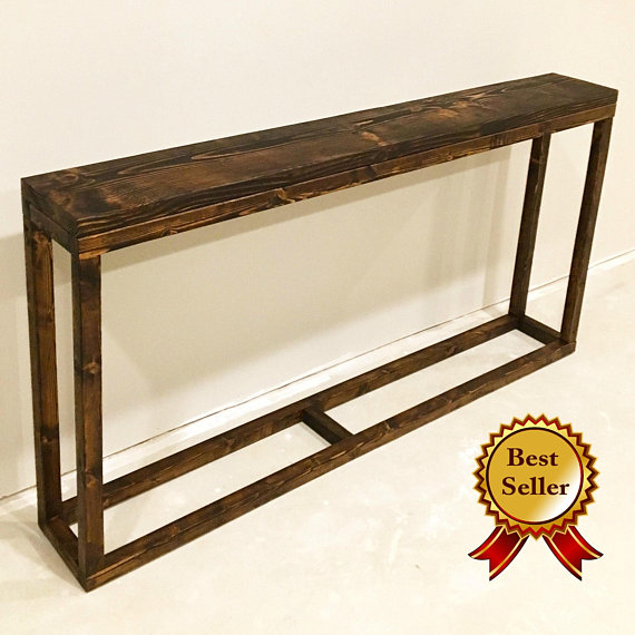 Console Table Sofa Behind Couch