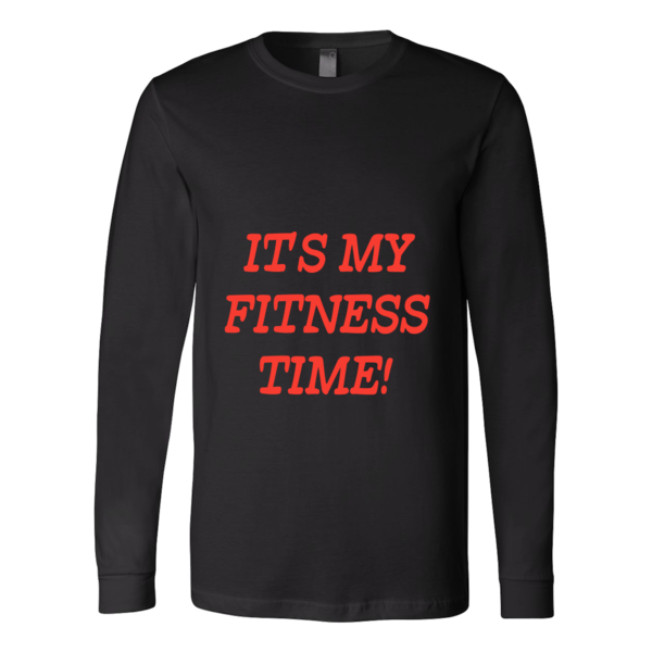 """ IT'S MY FITNESS TIME "" T-shirt"