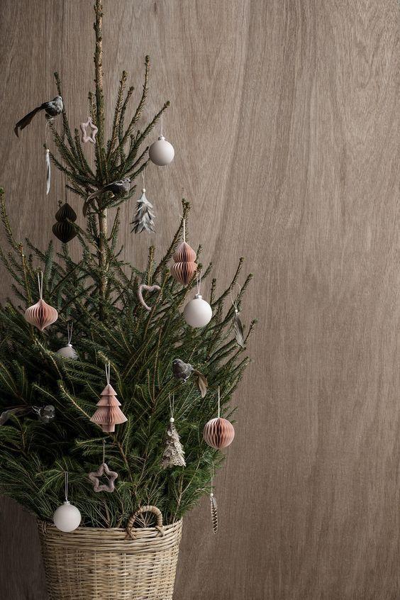 Inspiration: Weihnachtsbaum auf Skandinavisch (Lil