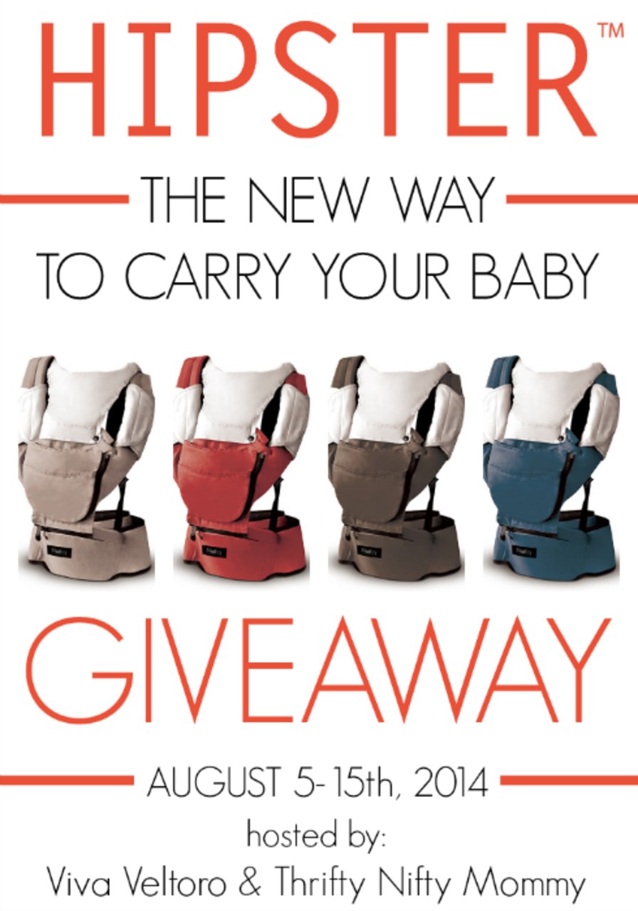 The New Way to Carry Your Baby HIPSTER Baby Carrier
