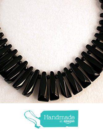 Handmade Black Tooth Necklace http://www.amazon.com/dp/B017FDDP42/ref=hnd_sw_r_pi_dp_QHtnwb10343TT #handmadeatamazon