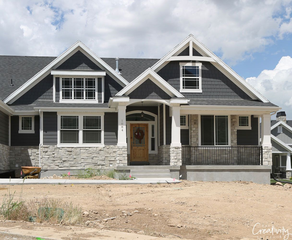 How to Choose the Right Exterior Paint Colors #greyexteriorhousecolors
