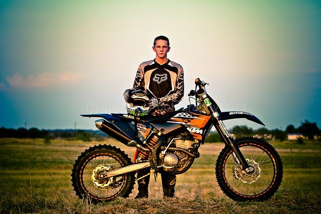 Pose With Dirt Bike Senior Boy Photography Bike Photography