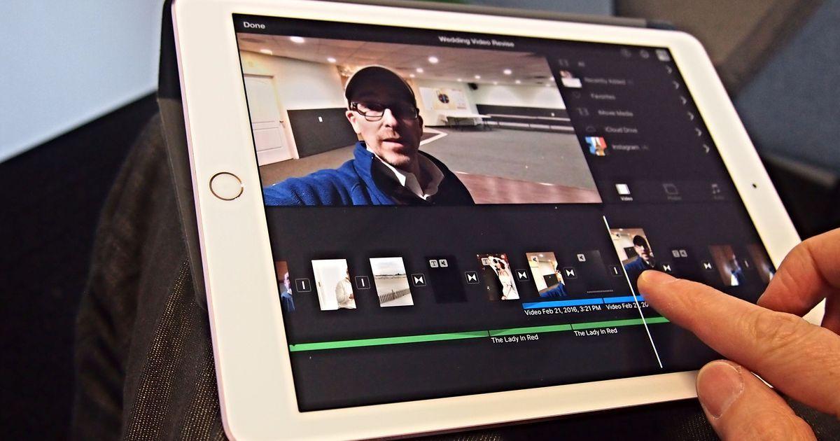I made iMovie magic on the iPad Pro Ipad pro, Ipad