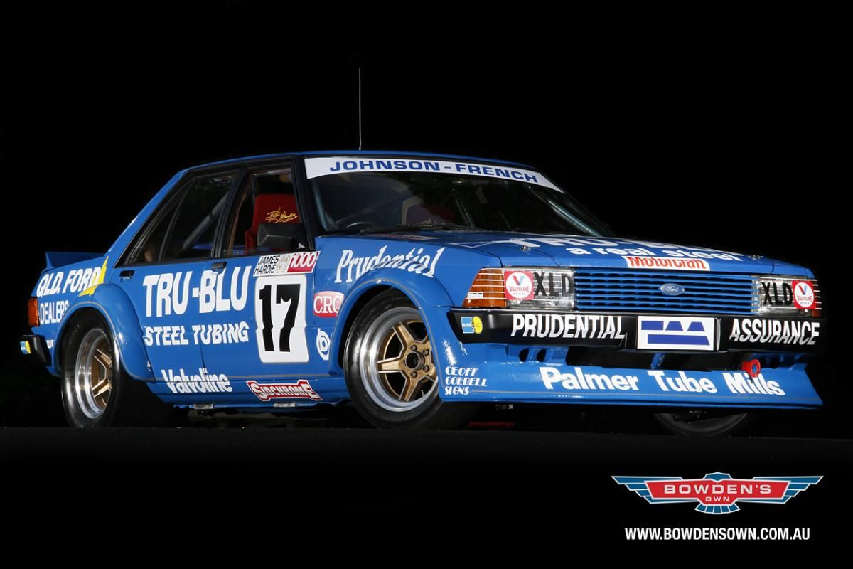 TRU BLU Ford motorsport, Australian cars, Ford racing