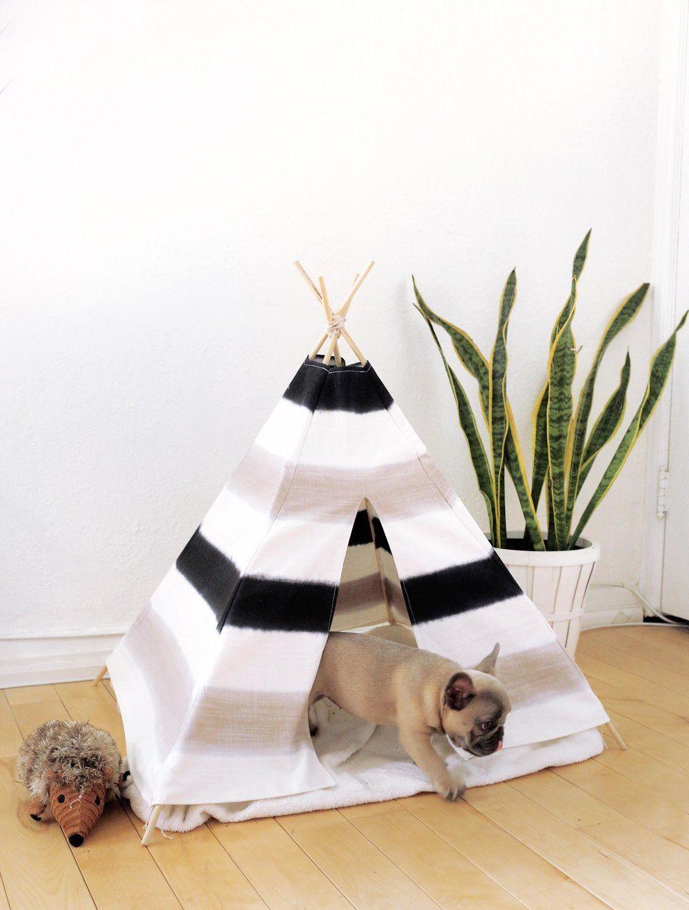 DIY PUPPY / PET TENT — The Sorry Girls -   18 diy Dog tent ideas
