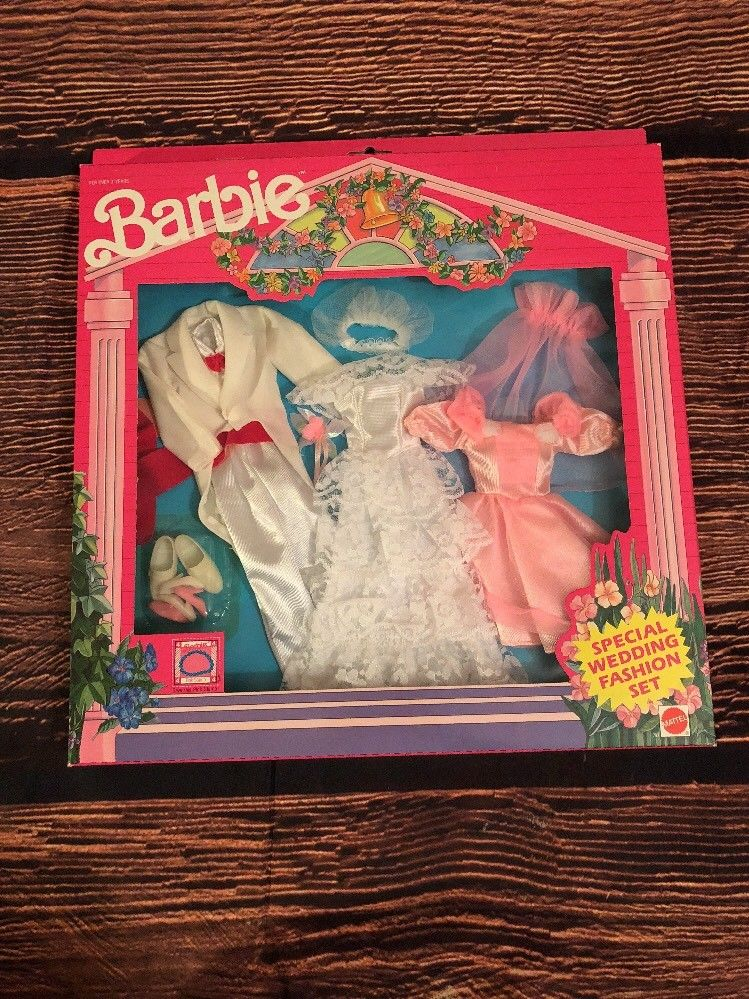 Barbie Special Wedding Fashion Set Vintage 1990 Clothing Accessories
