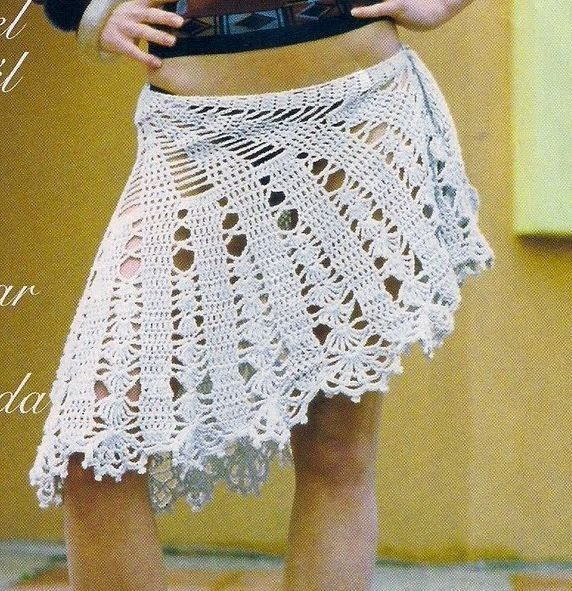 Pin by sma safia on crochet skirt | Pinterest | Crochet, Crochet ...