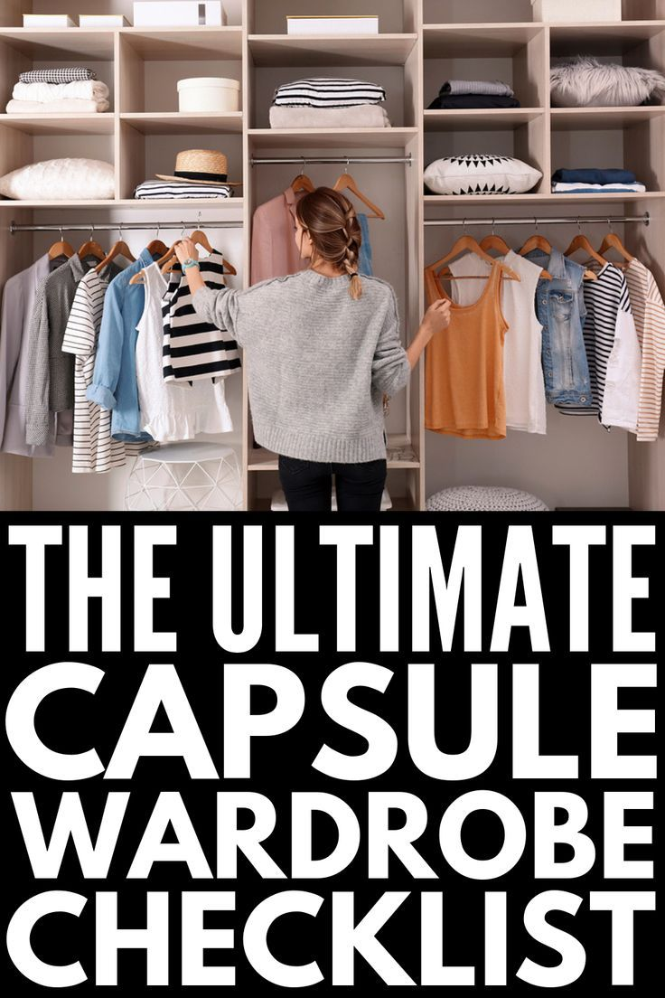 The Ultimate Capsule Wardrobe Checklist   If you want to know how to build a