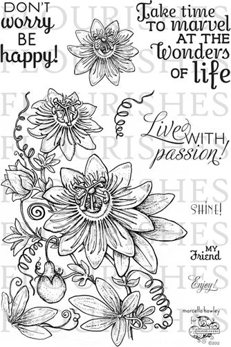 Passion Flower Redwork And Embroidery Flower Tattoos Passion Flower Flower Tattoo Designs