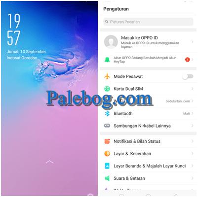 Download Tema Samsung M20 For Oppo A3s Palebog Di 2020 Samsung Aplikasi Kartu