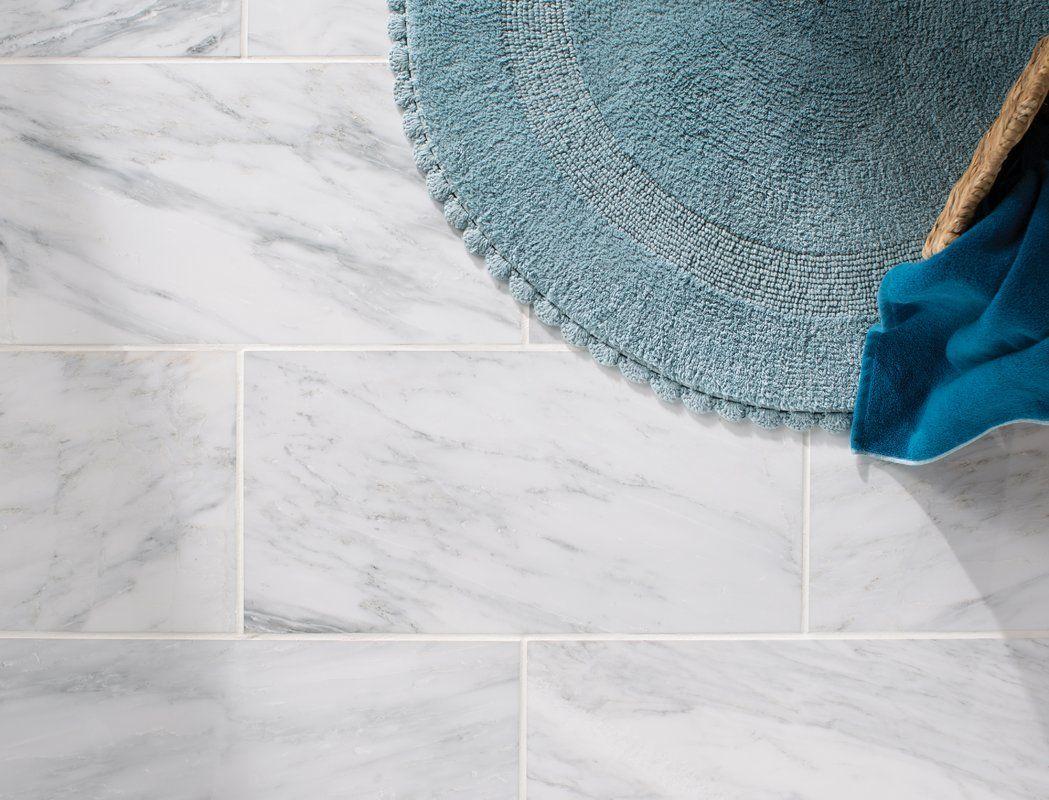 "Arabescato Carrara 12"" x 24"" Marble Field Tile Carrara"
