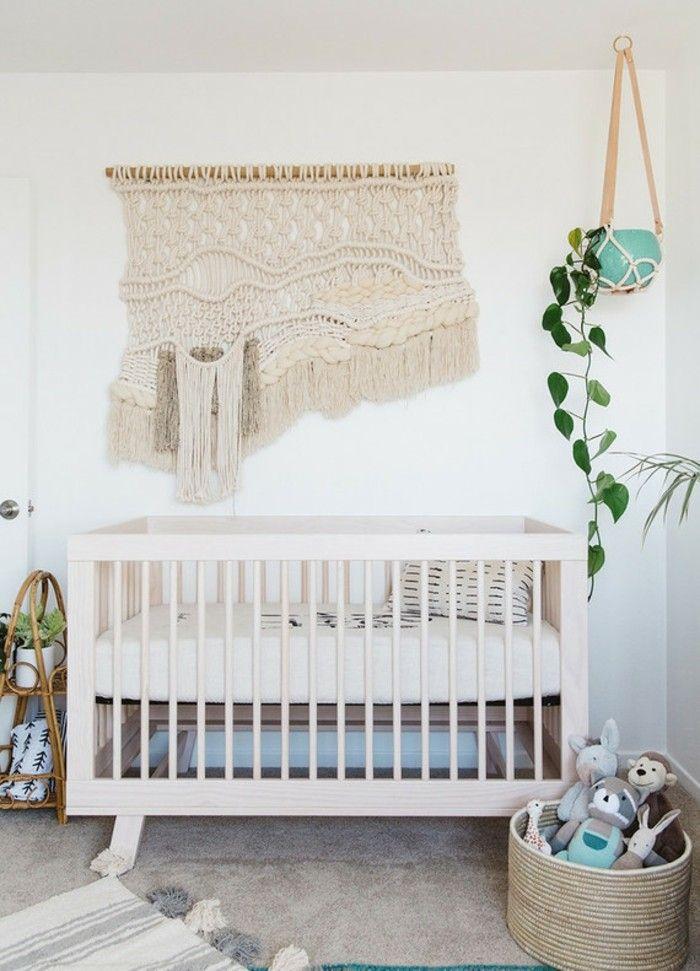 Babyzimmer Deko Ideen Jungen Boho Stil