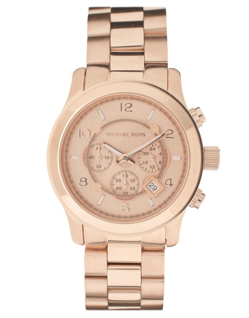 5e6b358ddf03 Michael Kors MK8096 Rose Gold Watch