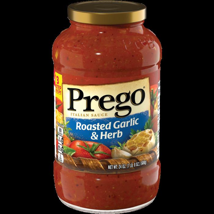 Prego® Tomato, Basil and Garlic Pasta Sauce Ground beef