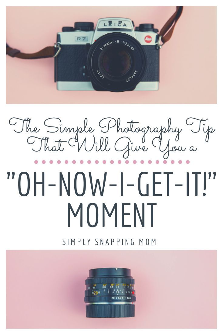 Learn the ONE simple photography tip that will finally make you say
