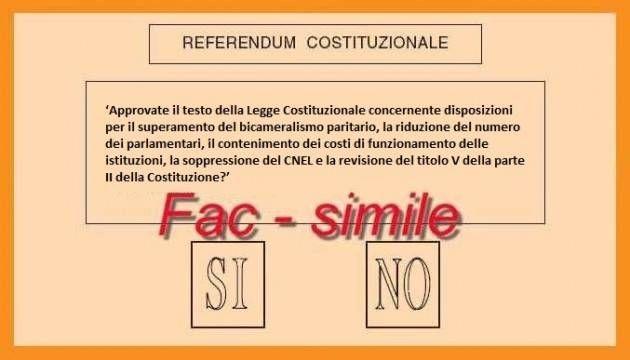 scheda costituzione