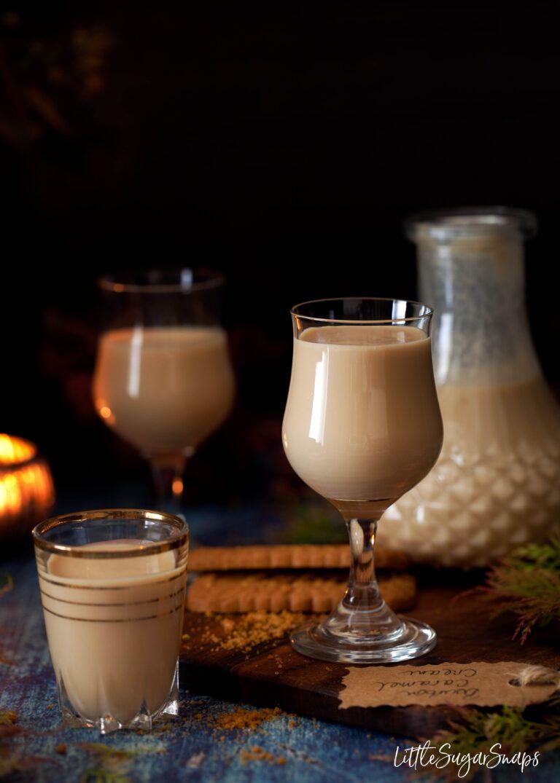 Caramel Cream Liqueur with Bourbon in 2020 Liqueur