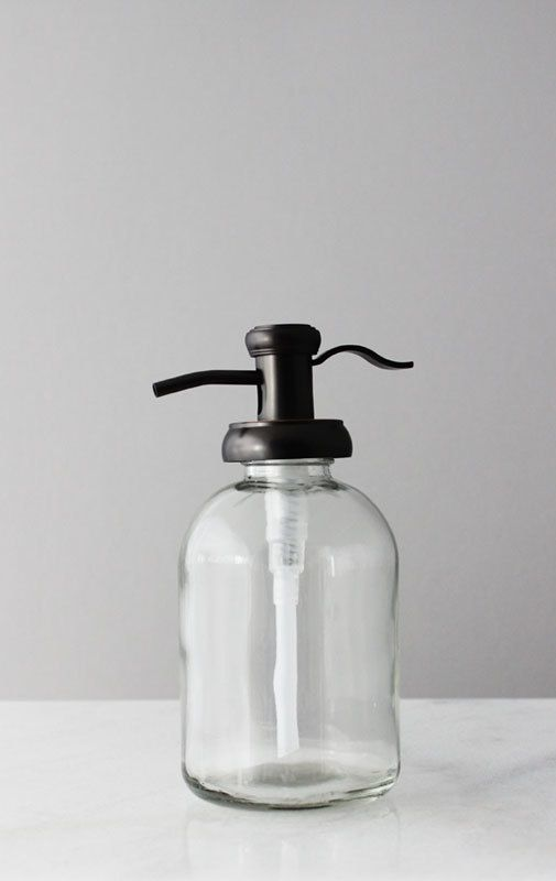 The Bell Gl Soap Dispenser With Antique Bronze Pump Is Farmhouse Style Lotion That Will Add Elegance And Charm To Your Bathroom