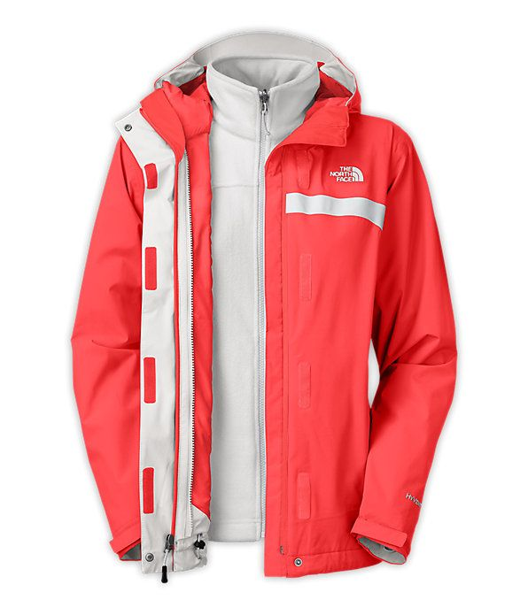 The North Face Women's Jackets & Vests INSULATED 3-IN-1 JACKETS WOMEN'S GLACIER TRICLIMATE JACKET $199