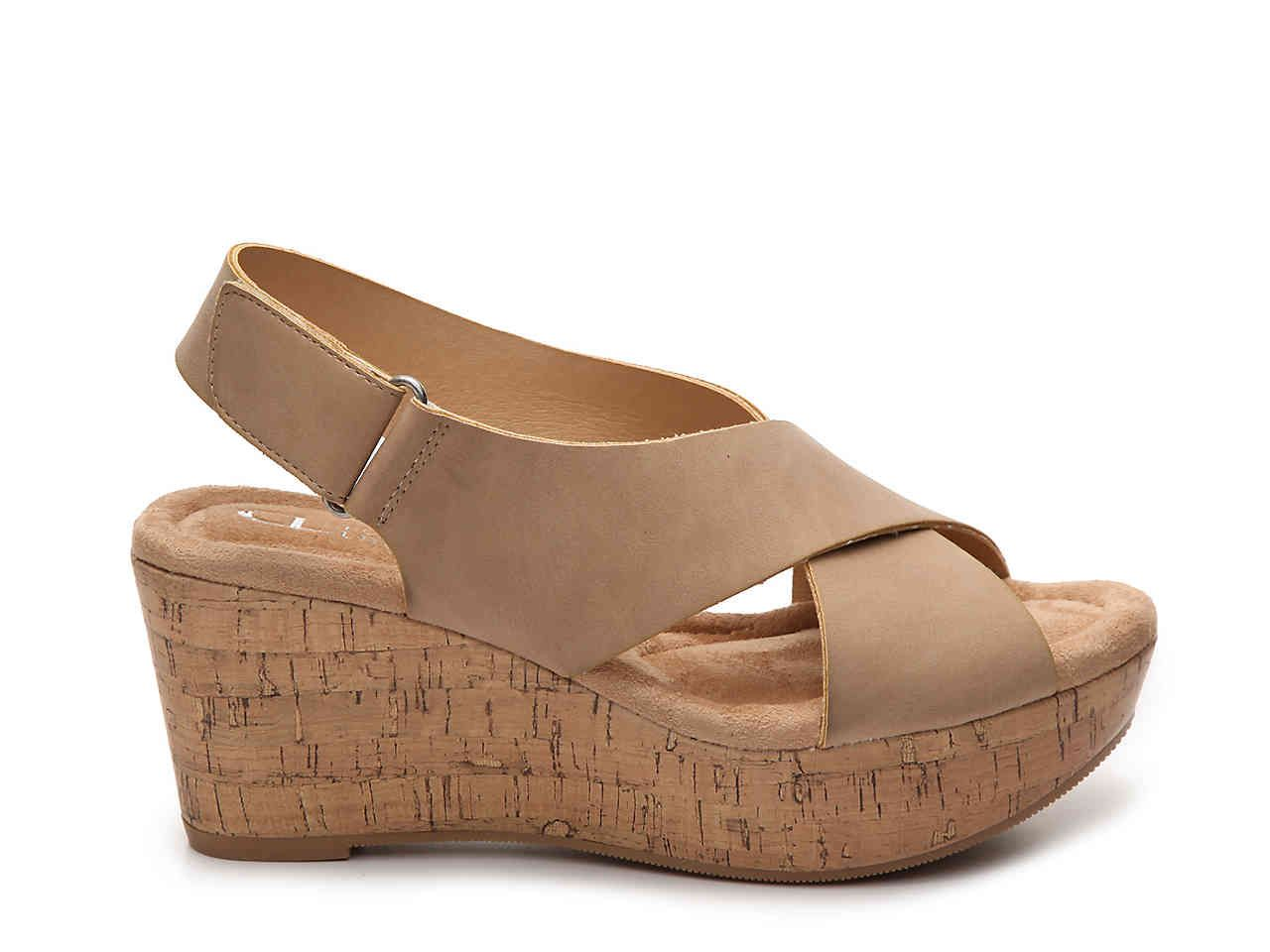 868caabe2 CL by Laundry Dream Girl Wedge Sandal Women s Shoes